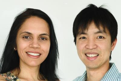 Have you met Dr Aaron Zhang and Dr Jasdeep Sandhu?