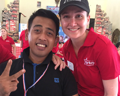 Local audiology team help hundreds to hear in Bali.