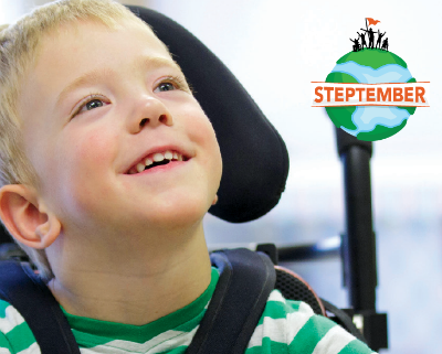 Steptember – raising money for Cerebral Palsy