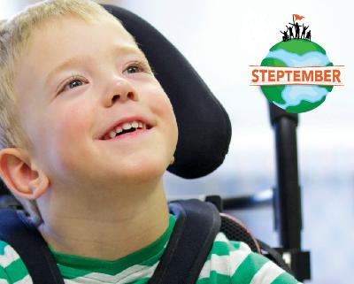 Steptember – raising money for Cerebral Palsy