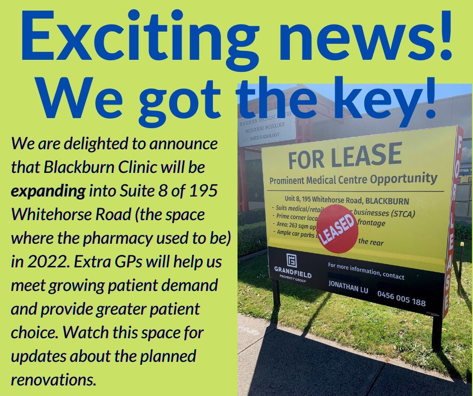 Exciting news! We got the key!